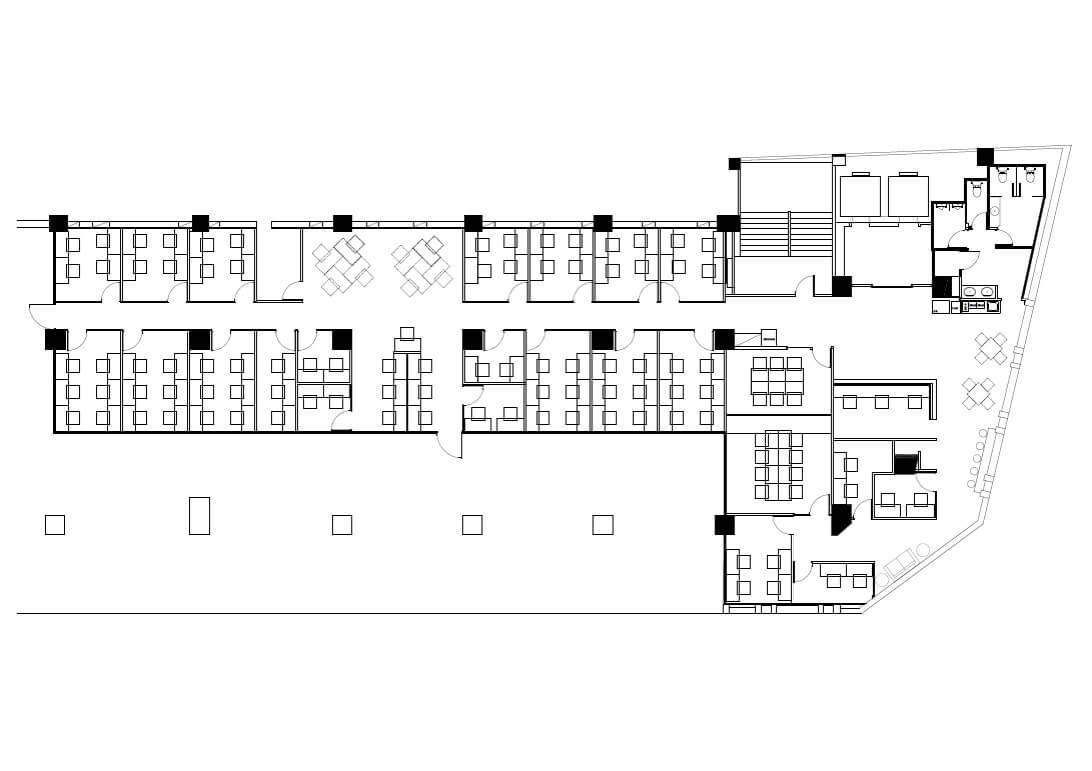 商務中心平面圖